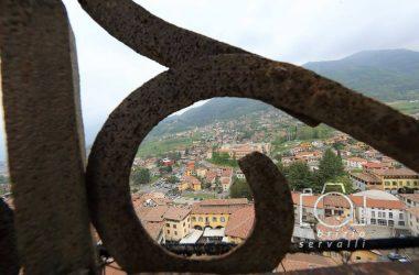 Fotografie dal campanile di Gandino