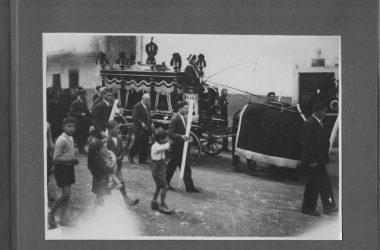 Funerale Leffe nel 1932