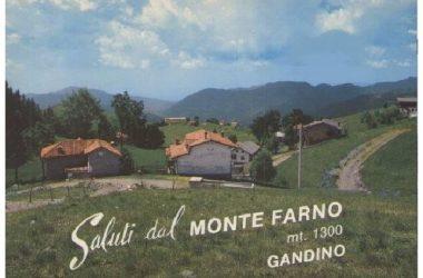 Gandino Fotografie storiche Monte Farno