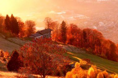 Gandino in autunno