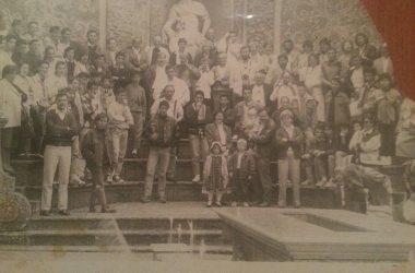 Gente di Calcinate nel 1989