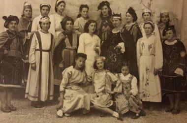 Gruppo Teatrale Cologno al Serio nel 1942
