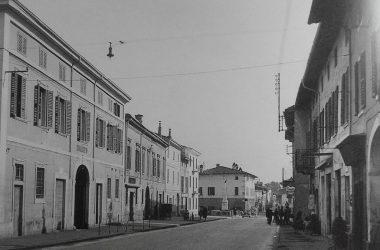 Il palazzo munipipale di Calcio anni 50
