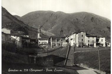 Immagine storica Frazione di cirano Gandino