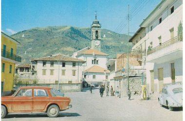 Immagini Piazza Casnigo anni 70