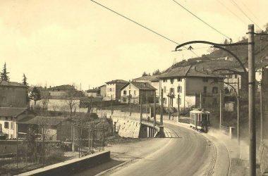 Immagini Tram Elettrico Storico Bergamo
