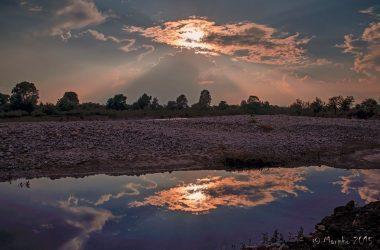 Immagini lungo il fiume Calcinate