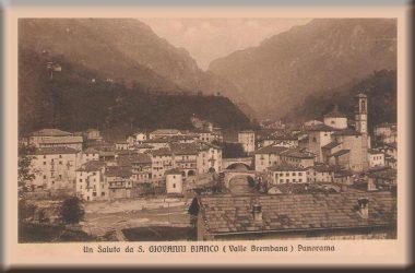 Immagini storiche di San Giovanni Bianco