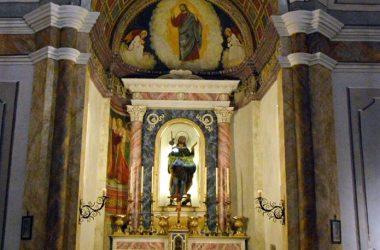 Interno Chiesa di san Rocco Albino