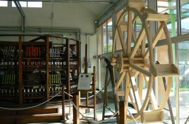 Interno Museo del Tessile Leffe