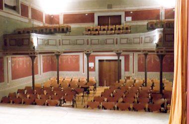 Interno Teatro Liberty del Circolo Fratellanza - Casnigo