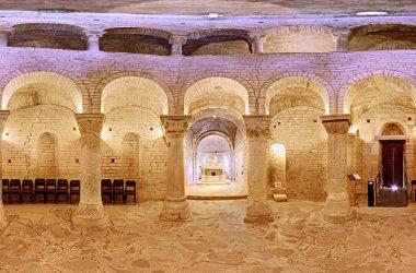Interno chiesa La Rotonda di San Tomè - Almenno San Bartolomeo