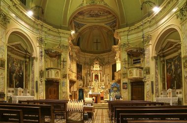 Interno chiesa San Giovanni Bianco