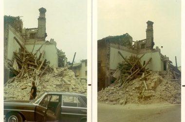 La Demolizione edificio piazza Leffe