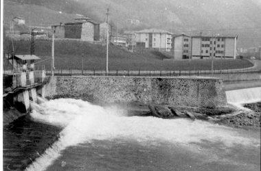 La diga San Giovanni Bianco 1972