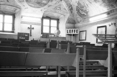 La sala Baschenis presso la casa parrocchiale Leffe