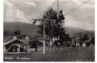 La seggiovia Monte Farno Immagine storica
