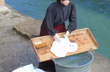 Lavandaie Il presepe dei lavandai alle Ghiaie - Paladina
