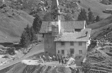 Lavori del 1954 Chiesetta di Valpiana - Gandino