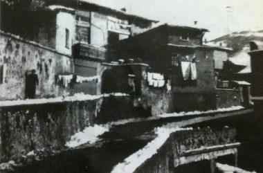Leffe Via donizetti prima del parcheggio