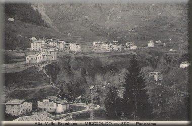Mezzoldo nel 1932