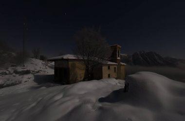 Neve Eremo di san Defendente Solto Collina