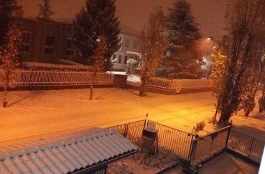 Neve a San Paolo d'Argon