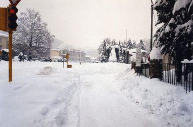 Neve del 1985 Trescore Balneario Bg