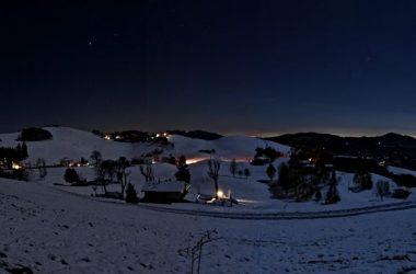 Neve sul Monte Farno Gandino