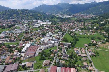 Paese di Gandino Val Seriana