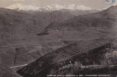 Panorama Casnigo nel 1957