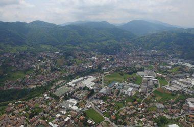 Panoramica Gandino Val Seriana