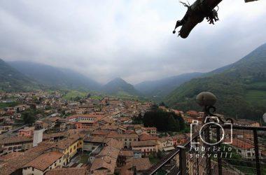 Panoramica dal campanile di Gandino