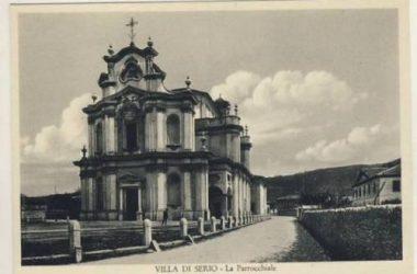 Parrocchia Villa di Serio anni 50