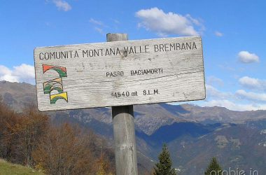 Passo Bracia morti San Giovanni Bianco