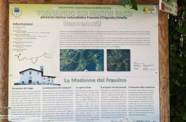 Percorso storico-naturalistico Madonna del Frassino