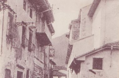 Piazza Caduti di Casnigo inizi 900