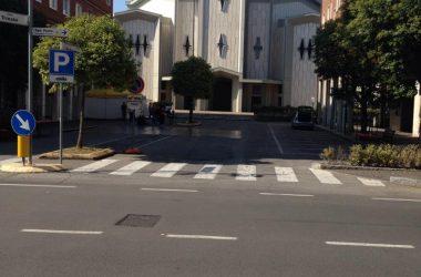 Piazza chiesa Azzano San Paolo