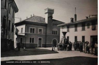 Piazza del vecchio comune di Casnigo