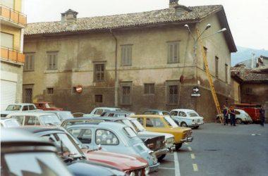 Piazza di Leffe Anni 70