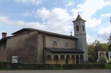 Pizzino comune di Taleggio Bergamo santuario di San Bartolomeo