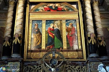 Polittico della Visitazione, attribuito a Girolamo di S. Croce Oneta
