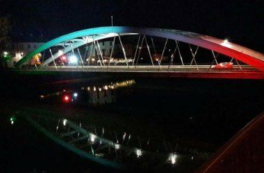 Ponte Illuminato Canonica D'Adda