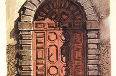 Porta Via Castello 26 Gandino