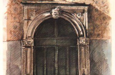 Porta Via Mazzini 27 Gandino