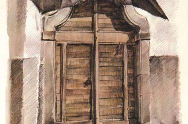 Porta Vicolo Rottigni 8 Gandino