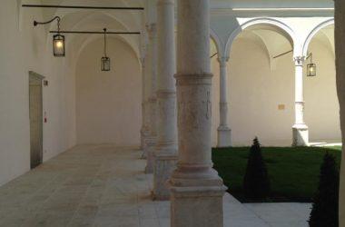 Porticato abbazia di San Paolo d'Argon