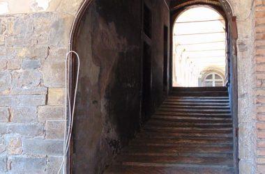 Portone Convento di San Francesco Bergamo città alta