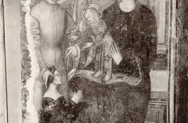 Prima del restauro Convento di San Francesco Bergamo