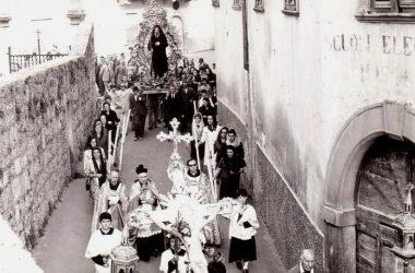 Processione Immagine storica Gandino